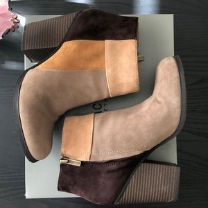 Kenneth Cole Reaction Suede Booties